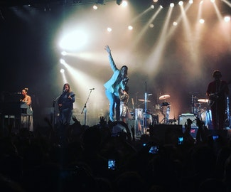 Listen to Arcade Fire's new song 'Chemistry' during small and personal London gig
