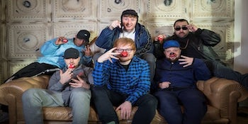 Kurupt FM Team up with Ed Sheeran for Hilarious Comic Relief Special.