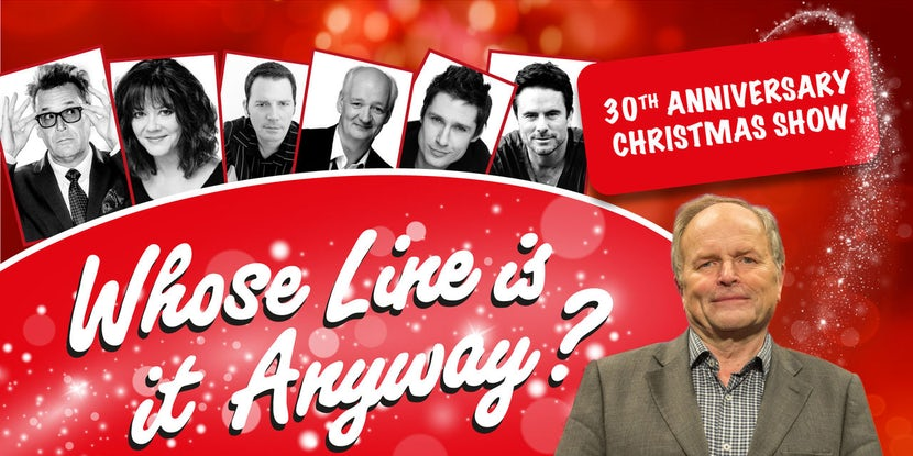 Legendary comedy show 'Whose Line is it Anyway?' comes to London for a 30th anniversary Christmas show