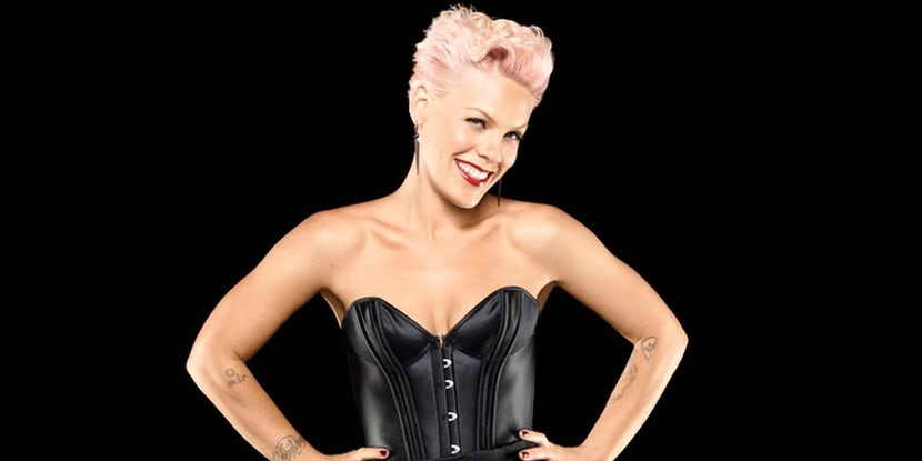"Pink is back with new single ""What About Us"""