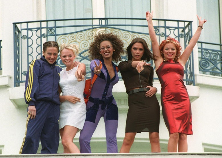 Spice Girls cr. Shutterstock