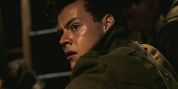 Watch as Harry Styles delivers chilling performance in Dunkirk's two new trailers