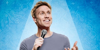 Russell Howard announces 'biggest ever' UK tour