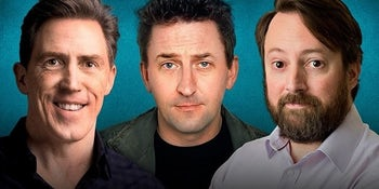 Rob Brydon, Lee Mack and David Mitchell announce joint tour