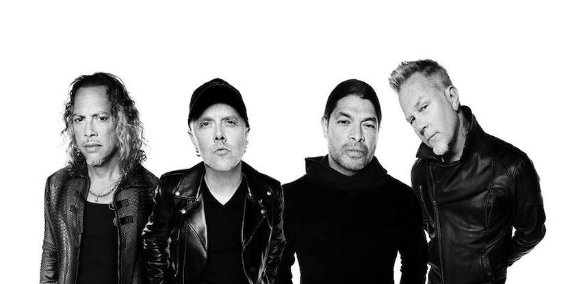 Watch as Metallica sing Rihanna and Disney hits in 'Carpool Karaoke' clip