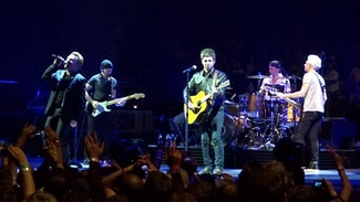 Watch U2 and Noel Gallagher team up for 'Don't Look Back in Anger' at Twickenham