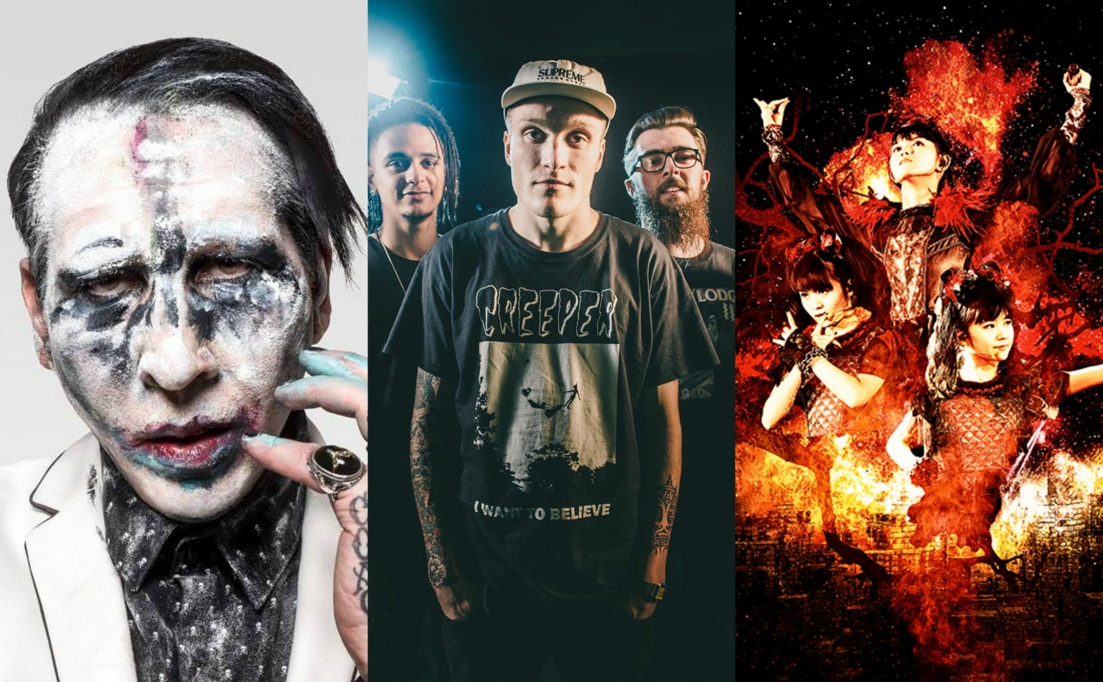 Marilyn Manson Rise Against And Neck Deep Have Been Announced For