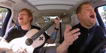 Watch Ed Sheeran's 'Carpool Karaoke.'