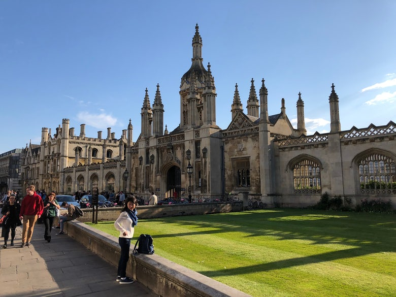 Cambridge beat out Oxford as one of the top cities for events in the UK