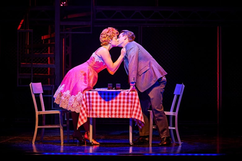 Frankie Valli and Mary Delgado in Jersey Boys