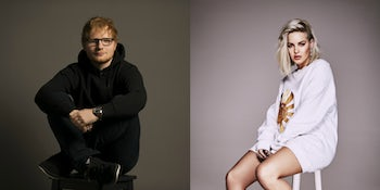 Watch as Ed Sheeran and Anne-Marie perform 'Fairytale of New York'