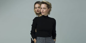 Lily James and Gillian Anderson to star in 'All About Eve' on the West End