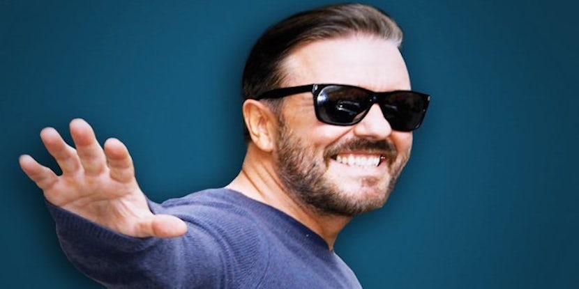 5 Reasons Why We Love Ricky Gervais!