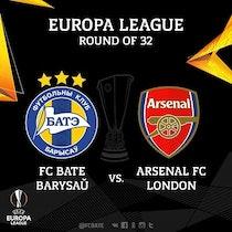 Arsenal FC vs FC BATE Borisov