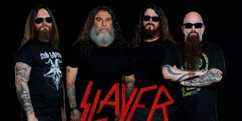 Slayer have announced their farewell UK arena tour