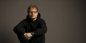 This is what Ed Sheeran did right after breaking both his arms