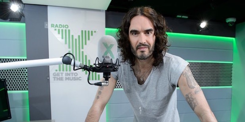 Russell Brand is returning to live radio after an eight year silence!