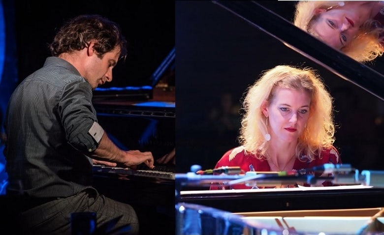Ivo Neame and Alcyona Mick will perform together at the Steinway Two Pianos Festival at the PizzaExpress Jazz Club in Soho