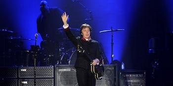 Paul McCartney announces UK dates for his 'Freshen Up' tour