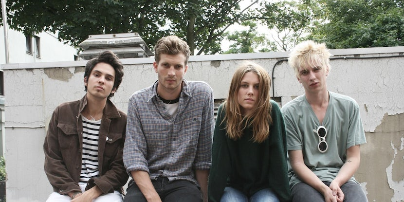 "Watch Wolf Alice's latest video ""Don't Delete The Kisses"""
