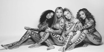 Little Mix strip down for female empowerment