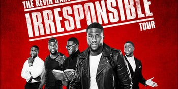 Kevin Hart has announced five UK shows