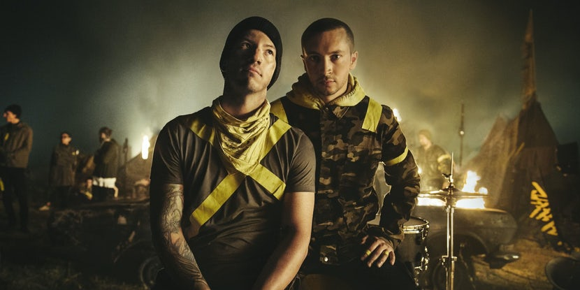 Twenty One Pilots release the third and final track of the 'Trench' trilogy: 'Levitate'