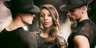 First shots emerge of Alexandra Burke as Roxie Hart in Chicago