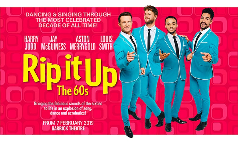 Rip It Up is coming to the London Garrick Theatre