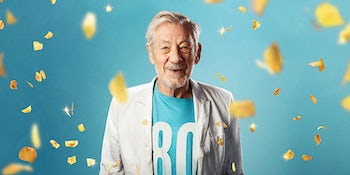 Sir Ian McKellen to celebrate 80th birthday with 80-date tour