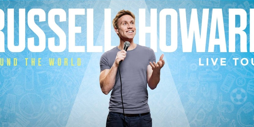 Netflix have filmed a Russell Howard stand-up special