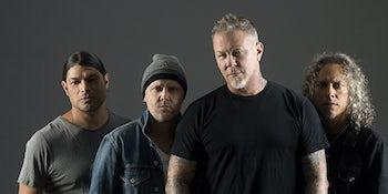 Metallica announce three huge UK and Ireland shows